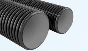 tubo corrugato grigio